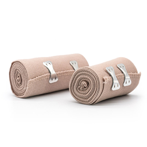 Medical Elastic Compression Bandage Wrap for Wound Dressing