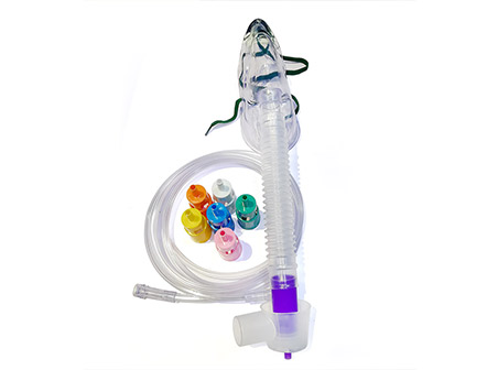 Medical Disposable Adjustable Venturi Mask with 6 Diluters