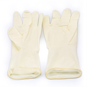 Disposable Medical Powdered Latex Examination Surgical Glove