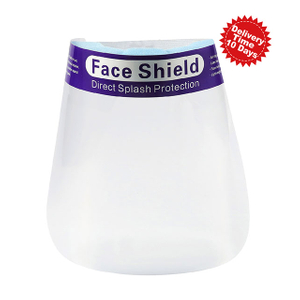 Reusable Adjustable Clear PET Face Shield for Eye And Facial Protection