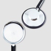 Single Head Stethoscope with Anti-chill Ring for Adult Use