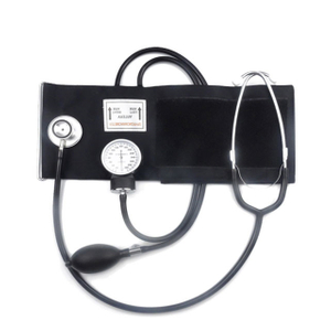 Clinical Standard Aneroid Sphygmomanometer with Single Head Stethoscope