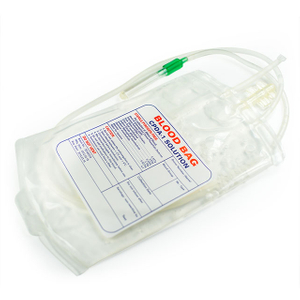 Medical Single/double/tripe/quadruple Blood Bag for Single Use