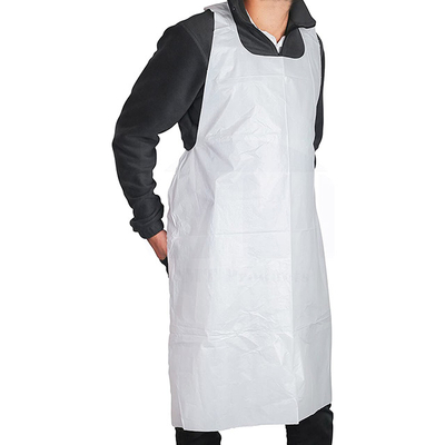 Disposable HDPE/LDPE PE Apron for Hospital/Medical/Restaurant/House-working