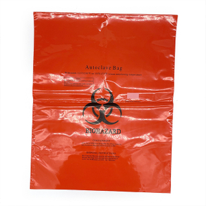 High Quality Plastic Danger BIO-Medical Biohazard Waste Bag